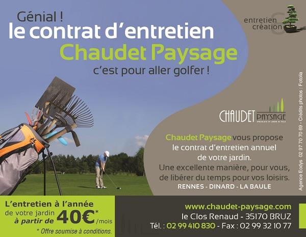 Contrat d'entretien de jardin sur Rennes