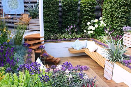 Création de jardin sur-mesure sur Rennes et ses environs.