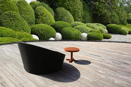 terrasse bois chaudet paysage Rennes